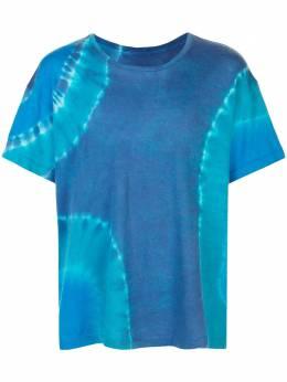 The Elder Statesman футболка свободного кроя с принтом тай-дай 19176CCSHTSSMR