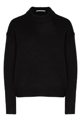 Черный свитер из шерсти Alexander Wang 367175863