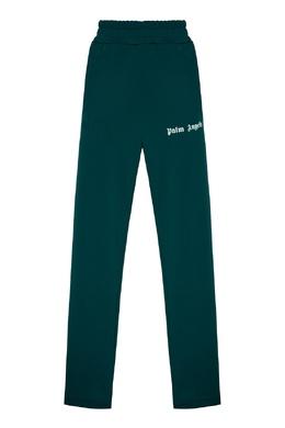 Спортивные брюки зеленого цвета Palm Angels 1864175849