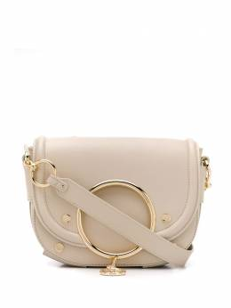 See By Chloe сумка через плечо Mara с заклепками CHS19WSA29388