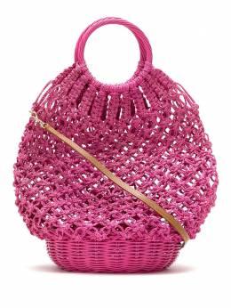 Serpui соломенная сумка в технике кроше 9244LARA