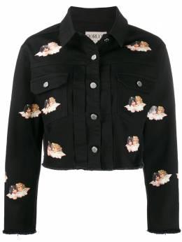 Fiorucci джинсовая куртка Angels с принтом W03JBER1DBK