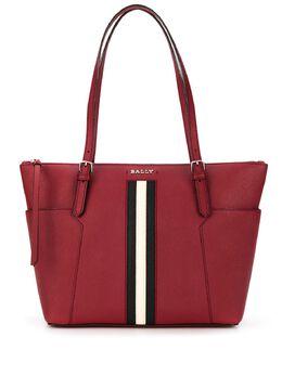 Bally сумка-тоут в полоску 6232735