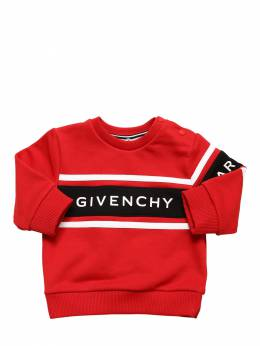 Rubberized Logo Cotton Sweatshirt Givenchy 71IOFM021-OTkx0
