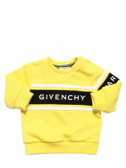 Rubberized Logo Cotton Sweatshirt Givenchy 71IOFM021-NTM10