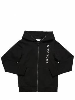 Zip-up Cotton Sweatshirt Hoodie Givenchy 71IOFL034-MDlC0