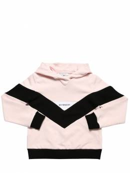 Color Block Cotton Sweatshirt Hoodie Givenchy 71IOFK032-NDVT0