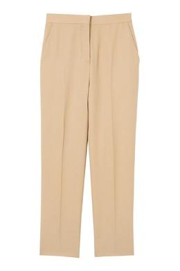 Бежевые брюки со стрелками Burberry 10168660