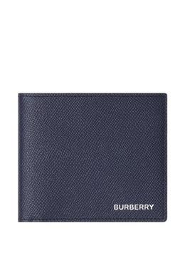 Синее портмоне из зернистой кожи Burberry 10168058