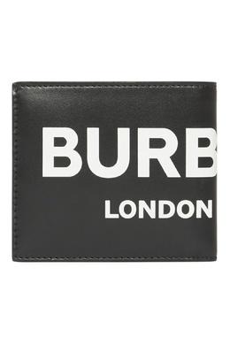 Складной кошелек с контрастным логотипом Burberry 10168965