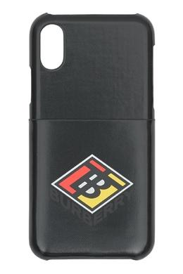 Чехол для iPhone со графичным логотипом Burberry 10168425