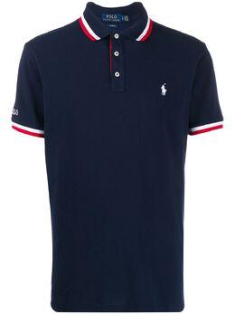 Polo Ralph Lauren рубашка-поло с вышитым логотипом 710784005
