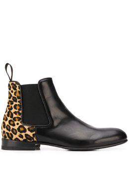 Scarosso ботинки челси Lexi с леопардовым принтом LEXI