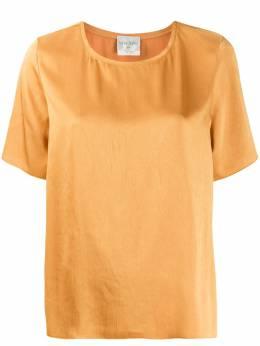 Forte_Forte блузка свободного кроя с короткими рукавами 7050MYTOP