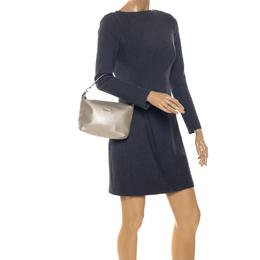 Furla Metallic Gold Leather Shoulder Bag 256907