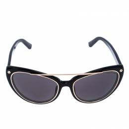 Tom Ford Black Edita Cat Eye Sunglasses 257360