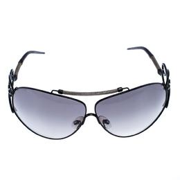 Roberto Cavalli Black Smoke Carneia Oversize Sunglasses 257365