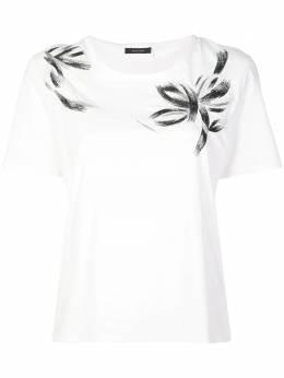 Natori футболка с вышивкой K85012