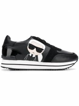 Karl Lagerfeld кроссовки на платформе KL61930300