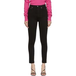 Agolde Black Roxanne Super High Rise Skinny Jeans A051-799