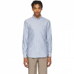 Officine Generale Blue Antime Oxford Shirt PERMSHI031