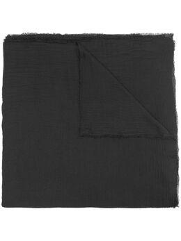 Faliero Sarti fine knit scarf 0083AZZURRA