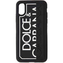 Dolce&Gabbana Black Logo iPhone X Case BI2418 AJ980
