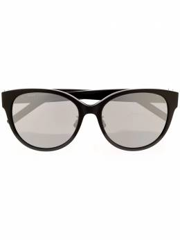 Saint Laurent Eyewear солнцезащитные очки в круглой оправе SLM39K