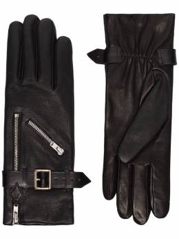 Agnelle перчатки Barbra с пряжками BARBRA