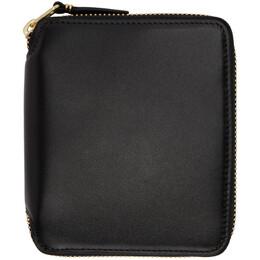Comme Des Garcons Wallet Black Classic Wallet SA2100