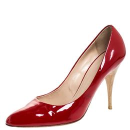 Guiseppe Zannotti Red Patent Leather Pumps Size 39.5 Giuseppe Zanotti Design 257855