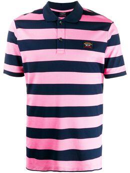 Paul & Shark полосатая рубашка-поло с короткими рукавами C0P1012