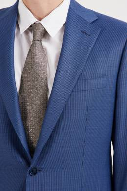 Шерстяной синий костюм Stefano Ricci 1726137141