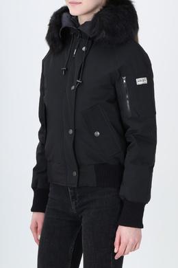 Короткая куртка с меховой отделкой Kenzo 1567177956