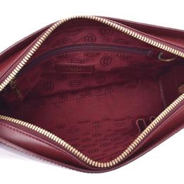 Cartier Bordeaux Must De Leather Bag