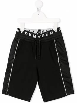 DKNY Kids шорты с кулиской и логотипом D2470909B