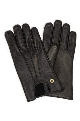 Короткие кожаные перчатки с перфорацией Billionaire 1668178457