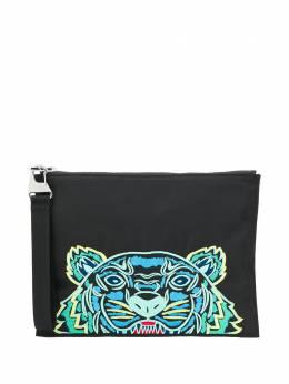 Kenzo клатч с вышивкой Tiger FA55PM302F20