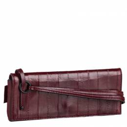 Gucci Red Leather Clutch Bag 253067