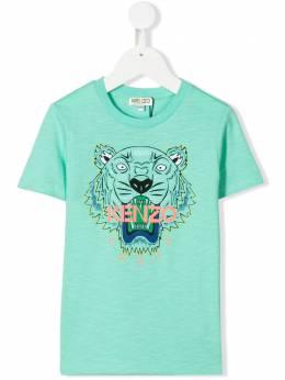 Kenzo Kids футболка с принтом Tiger KQ10658