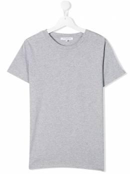 Givenchy Kids футболка с контрастными вставками H25174A01
