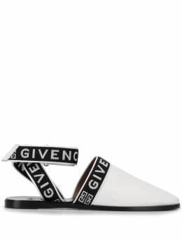 Givenchy мюли с ремешком и логотипом BE200SE0MR