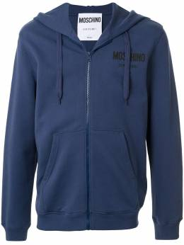 Moschino худи на молнии с логотипом Couture A17102027