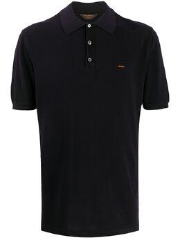 Ermenegildo Zegna Xxx рубашка-поло с вышитым логотипом C7C96C32