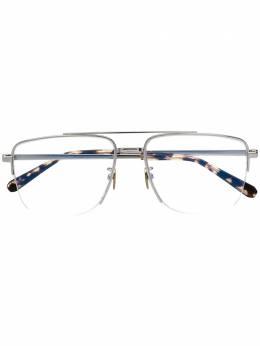 Brioni солнцезащитные очки-авиаторы BR0053O