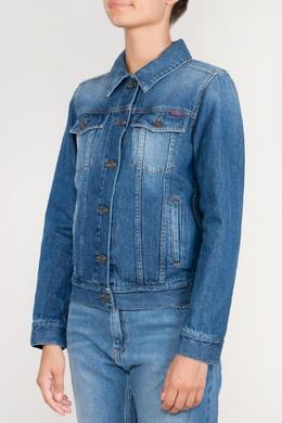 Джинсовая куртка с принтом Kenzo 1567179034