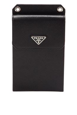 Черный чехол для iPhone Prada 40179758