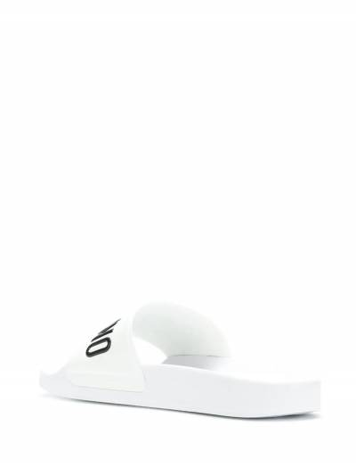 Moschino шлепанцы с логотипом MB28022G05G10 - 3