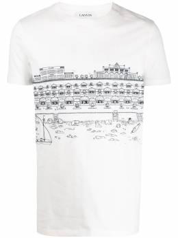 Lanvin футболка Babar с принтом RMJE0026JB04P20
