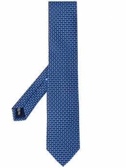 Salvatore Ferragamo галстук с принтом 358806LIDO723467